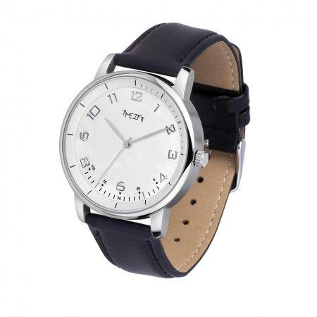 WatchTracker - leather  - leather - leather black